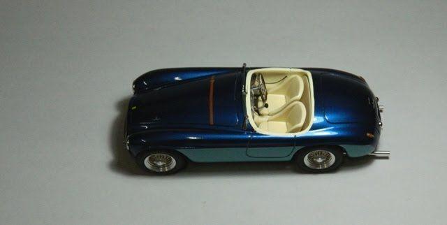 S56 Ferrari 166 MM barchetta Touring Stradale Lusso Gianni Agnelli Limited 30 - V12 Sportmodels