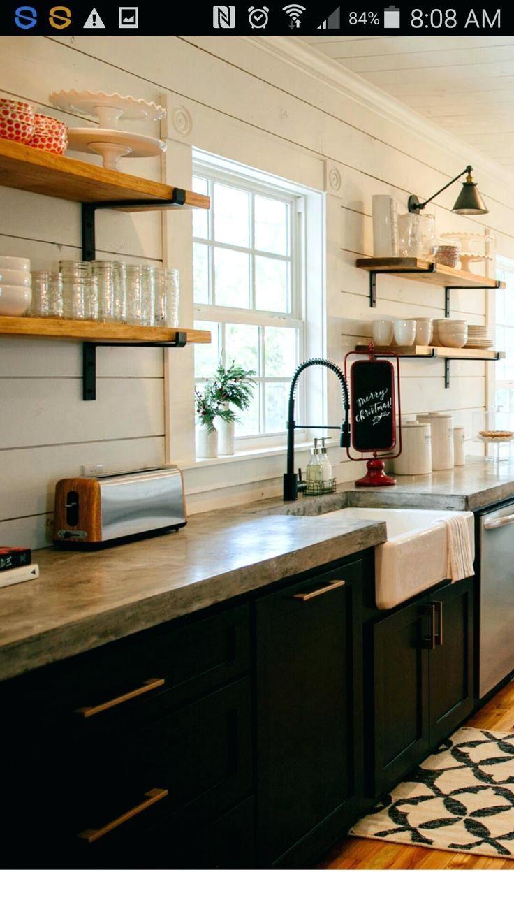 98 Beängstigend Küche Kabinette Dunkel, Unten Weiß Oben Bild Design ...