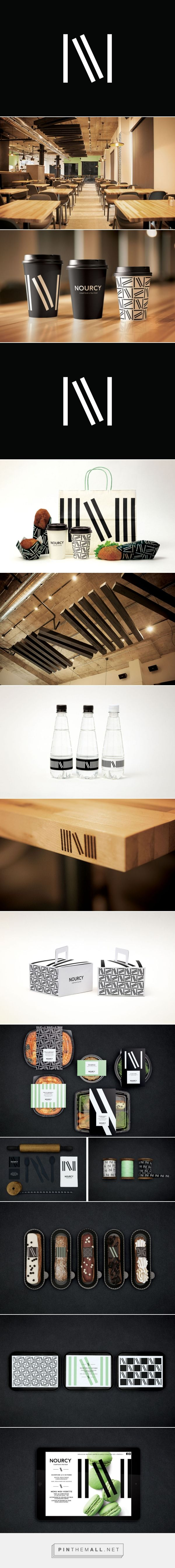 New Brand Identity for Nourcy by lg2boutique — BP&O... - a grouped images picture - Pin Them All
