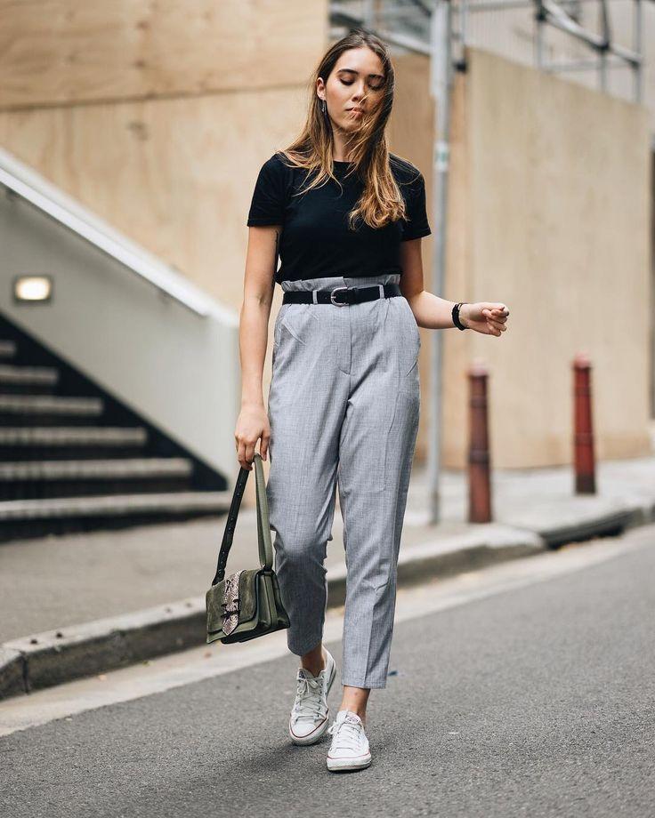 Work wear, but still casual!  Isabella Hung | Sydney Blogger (@digyhu) • Instagram