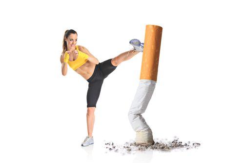 Jeder kann mit dem Rauchen aufhören. Zigaretten schaden Stoffwechsel, Haut, Körper. Diese Nichtraucher Tipps helfen bei Entzugserscheinungen und Zunehmen.