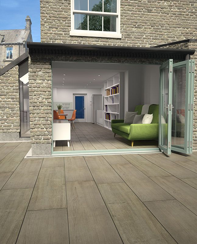 New Valverdi Chalet Tahoe Brown wood effect indoor & outdoor porcelain tiles now in stock