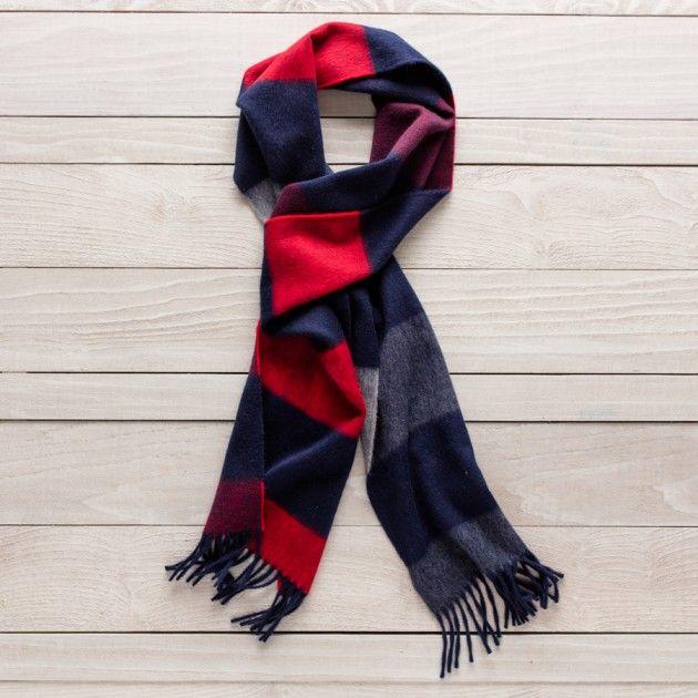 Cashmere Silk Scarf - TRIGGERED: PRINCE by VIDA VIDA zLoKlrPSk4
