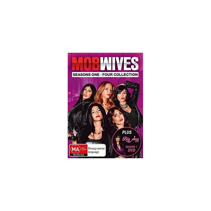 Mob Wives: Season 1-4 & Big Ang Box Set (Dvd)