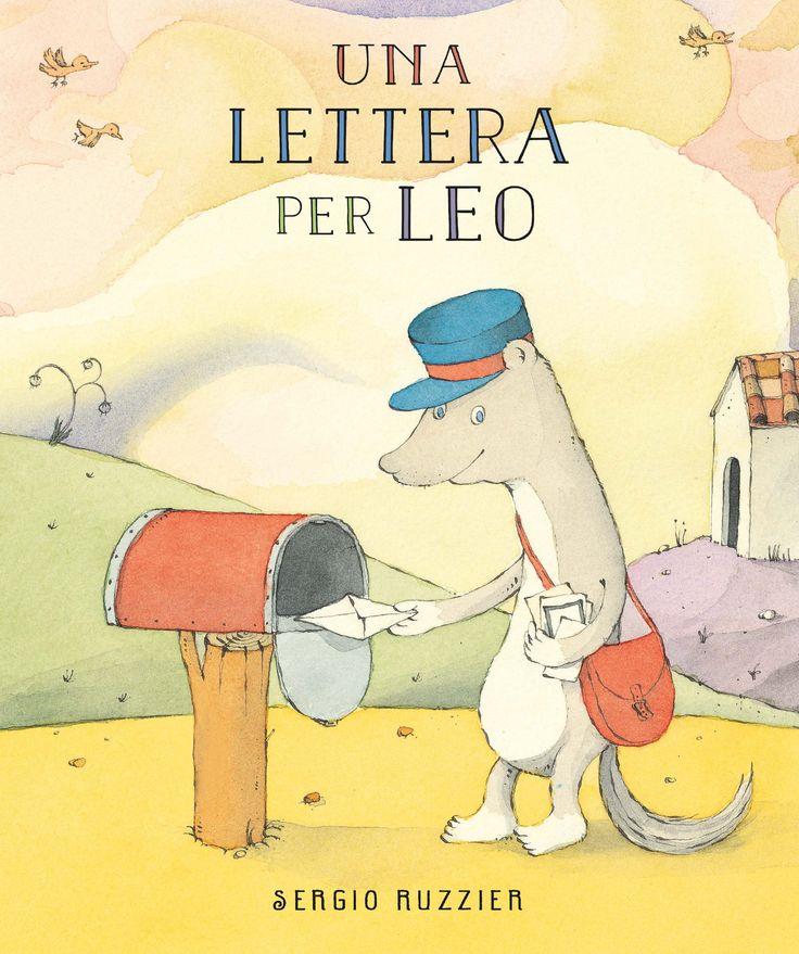 """""""Una lettera per Leo"""", il primo album per bambini in Italia di Sergio Ruzzier."""