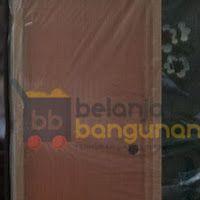 Pintu PVC Urat / Serat Kayu (Kusen 10cm) Dengan Slot Tarikan