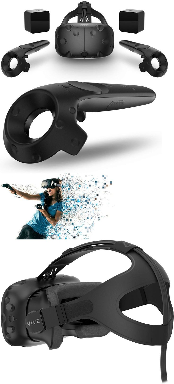 PC and Console VR Headsets: *Brand New* Htc Vive Vr Virtual Reality Headset Consumer Version Retail Cv1 -> BUY IT NOW ONLY: $747 on eBay!