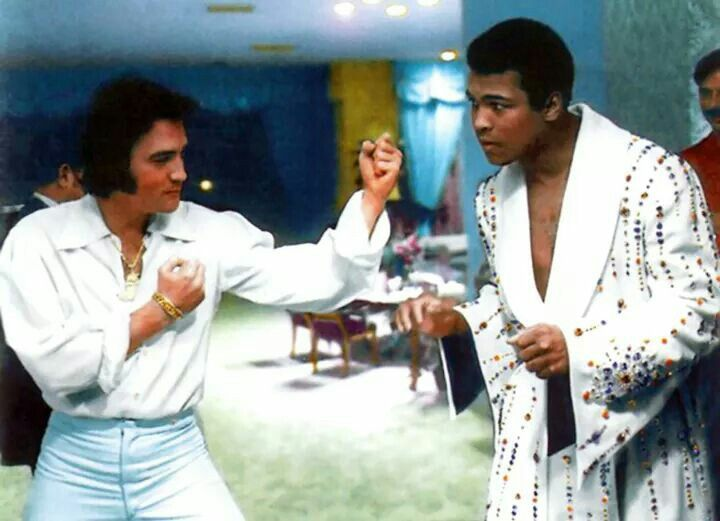 Elvis and Muhamid Ali - 2 of the greatest!