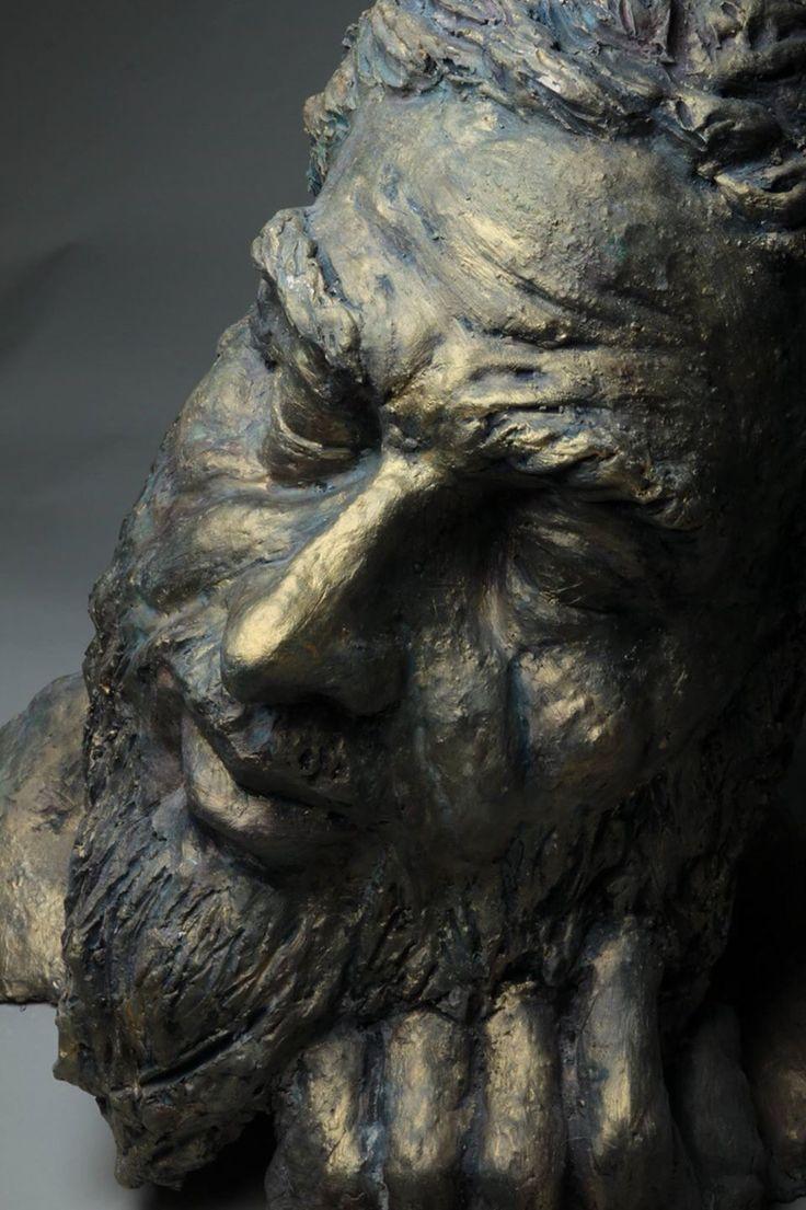 Close up of Zeus in Repose 2013