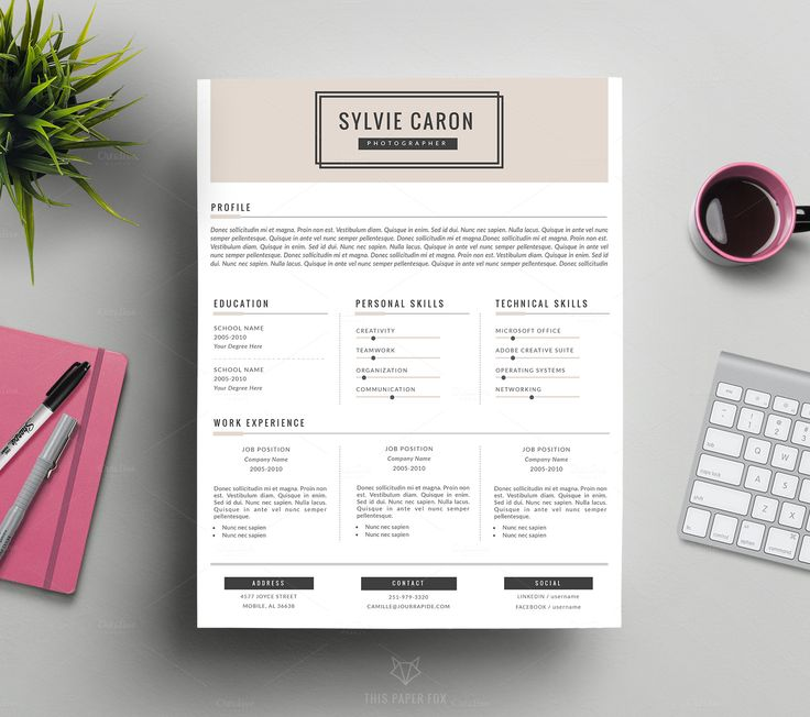 The 25+ Best Fashion Cv Ideas On Pinterest | Creative Cv Design