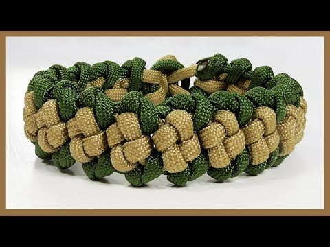 "Paracord Bracelet: ""Snake Virus"" Bracelet Design Without Buckle - YouTube"