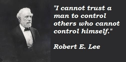 Robert E. Lee quote