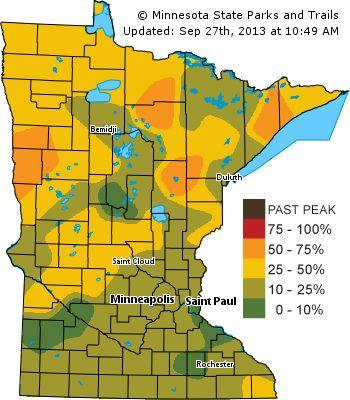 Minnesota Fall Color Tours