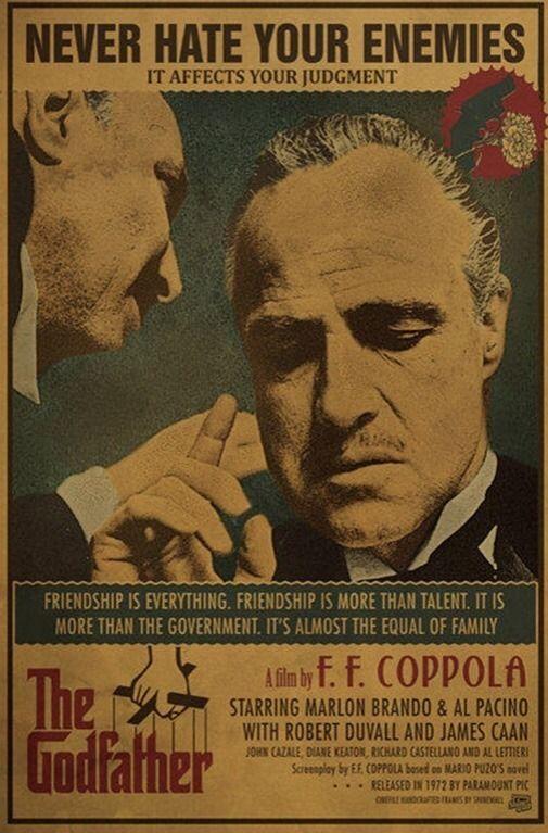 Il Padrino, 1972, Francis Ford Coppola