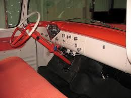 Image result for 1956 chevy truck interior
