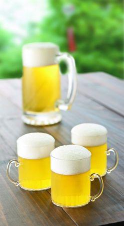 ひんやり涼しげな大人の夏デザート♪【ビールのゼリー】