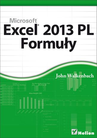 """Excel 2013 PL. Formuły""  #helion #IT #Excel #Walkenbach #ksiazka #Microsoft"