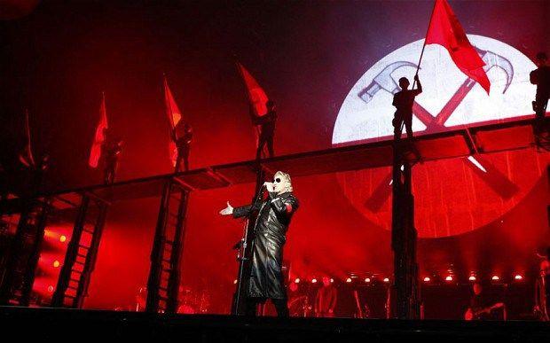 Roger Waters en el Zócalo de la Ciudad de México
