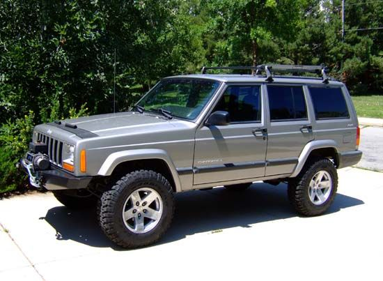 Jeep Cherokee Xj >> Hanson Basic Front Winch Bumper XJ | véhicules | Pinterest