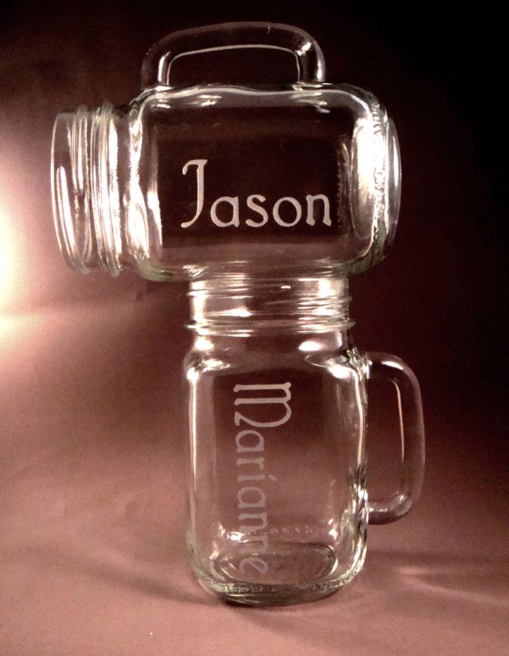 10 best ideas about mason jar wine glass on pinterest glass bottle crafts diy wine glasses - Stemmed mason jars ...