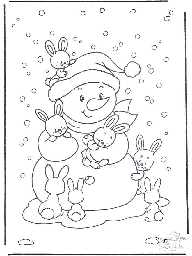 embroidery patterns christmas | Free Winter Coloring Pages
