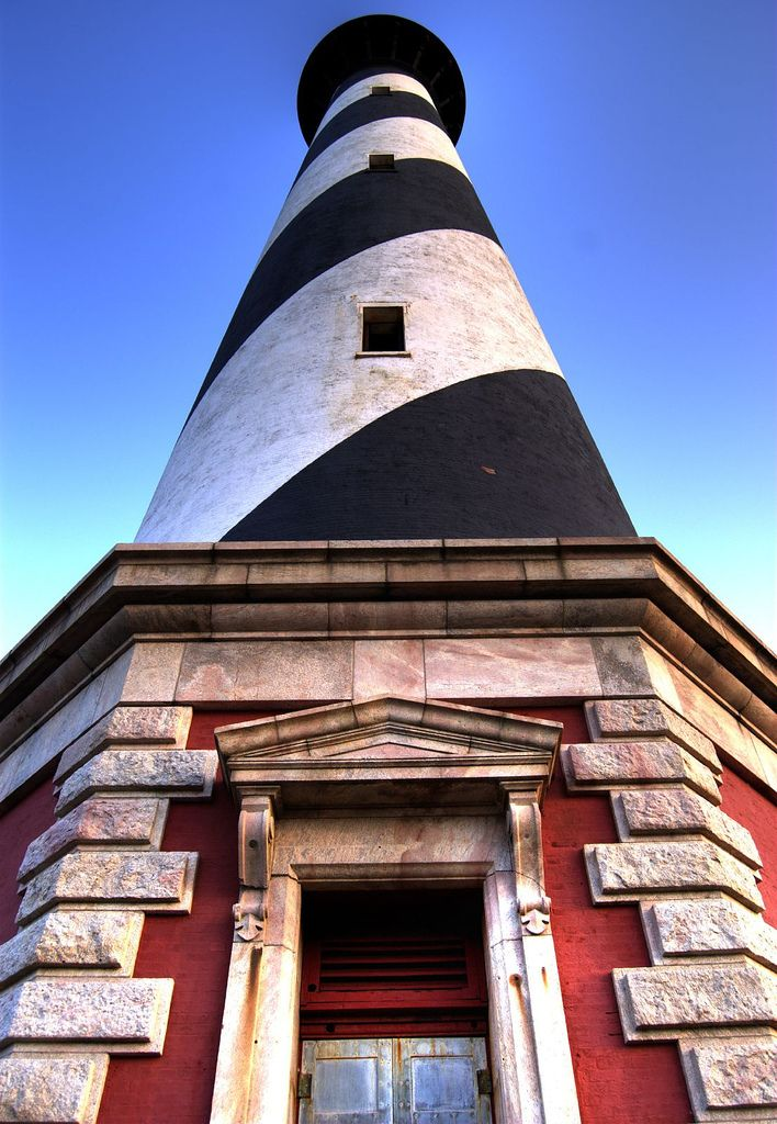 Cape Hatteras Lighthouse - located on Hatteras Island in the Outer Banks area of North Carolina. - Joey Nonya