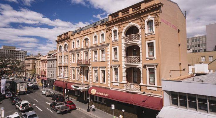 HOTEL オーストラリア・ホバートのホテル>1834年築のユニークでエレガントなホテル>ハードリーズ オリエント ホテル(Hadley's Orient Hotel)