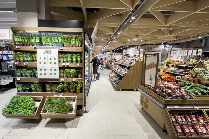 Meny supermarkets by Household Norway 06 Meny supermarkets by Household, Norway
