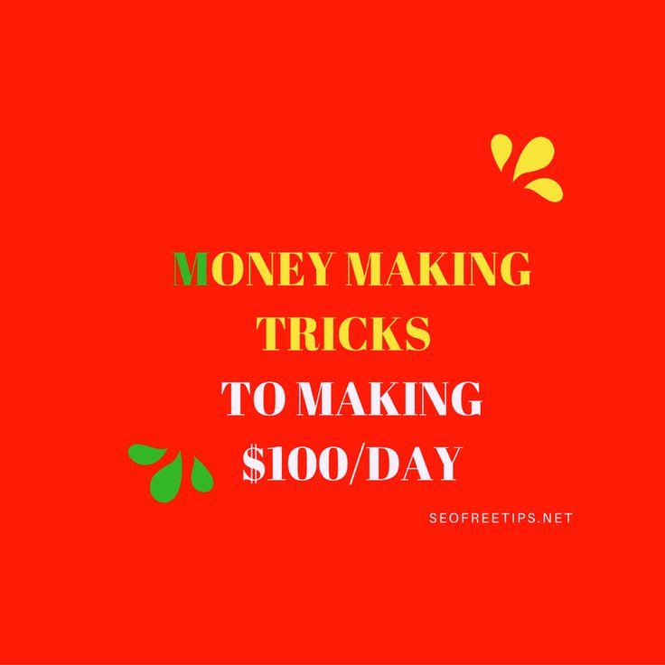 Want to make some easy ,hidden and secret online money making tricks to earn money through internet 2017 . Use these 15 tricks to make $100/day