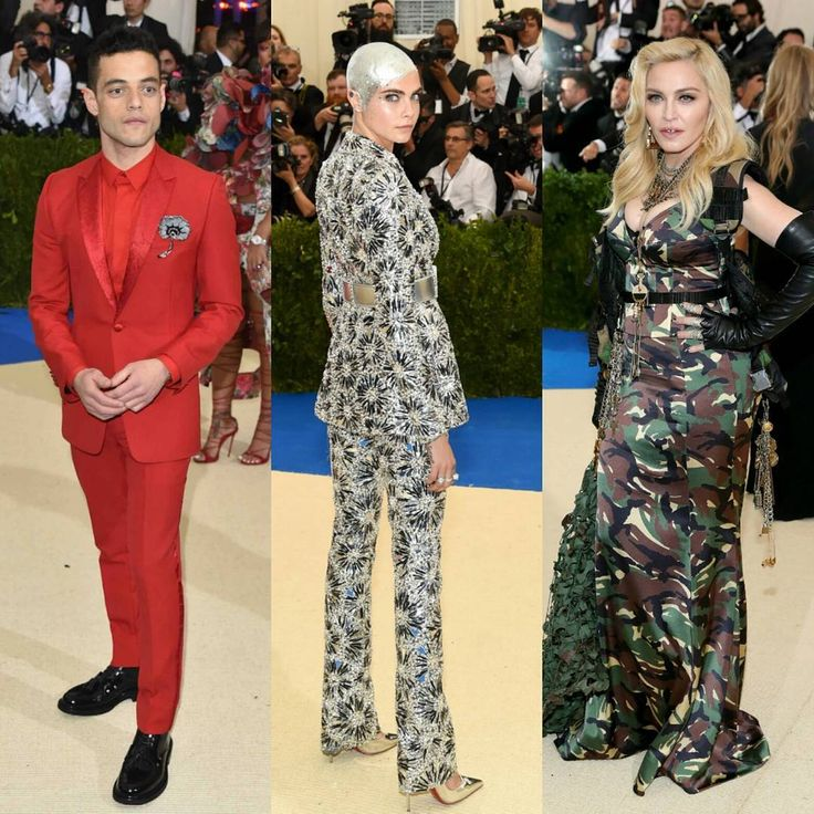#metgala2017 looks. I liked #ramimalek in #dior #caradelevingne in #chanel.  #madonna in #moschino marching off to war after the #redcarpet  Not a favorite! #instafashion #menslooks #menssuit #mensfashion #celebrity #celebritystyle #stylereport #glamour #instastyle #inspire #redcarpetready #nyc #ootd #ootdmen #glam #Blackandpaper #ootdmen #fashiondesigner #vogue #fashionista #style http://tipsrazzi.com/ipost/1506340201479647888/?code=BTnmG6sFbKQ