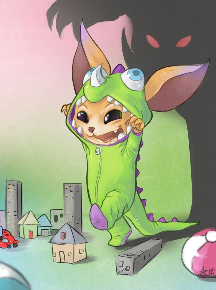 Cute dino gnar art