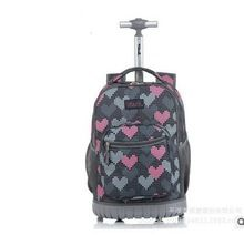 TILAMI Children Trolley School Bags kids Trolley Backpack 18 inch Travel Luggage Backpack with Wheels Rolling Backpack For Girls //FREE Shipping Worldwide //