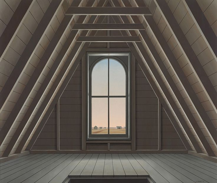 CHRISTOPHER PRATT: Sackville Attic