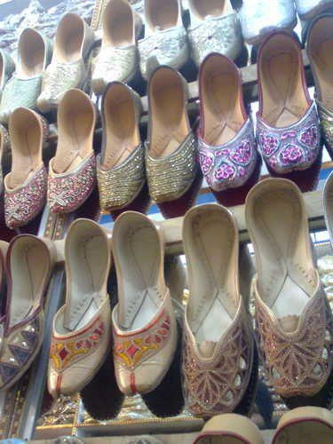 Explore the Beauty of Pakistan  - Traditional Ladies Shoes of Punjab