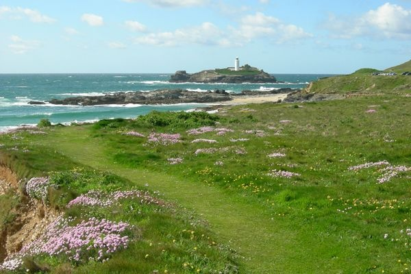 Godrevy Lighthouse, St Ives, Cornwall