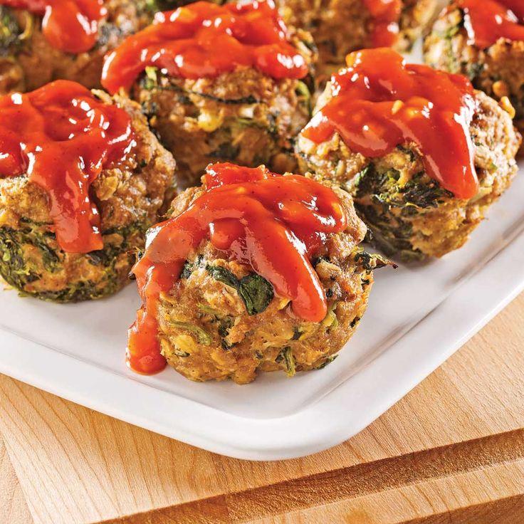Essayez cette recette avec d'autres viandes hachées: poulet, dindon, bœuf ou porc maigre!