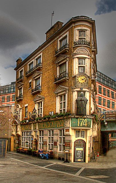 The Black Friar, London This is the most beautiful Pub in London!!!
