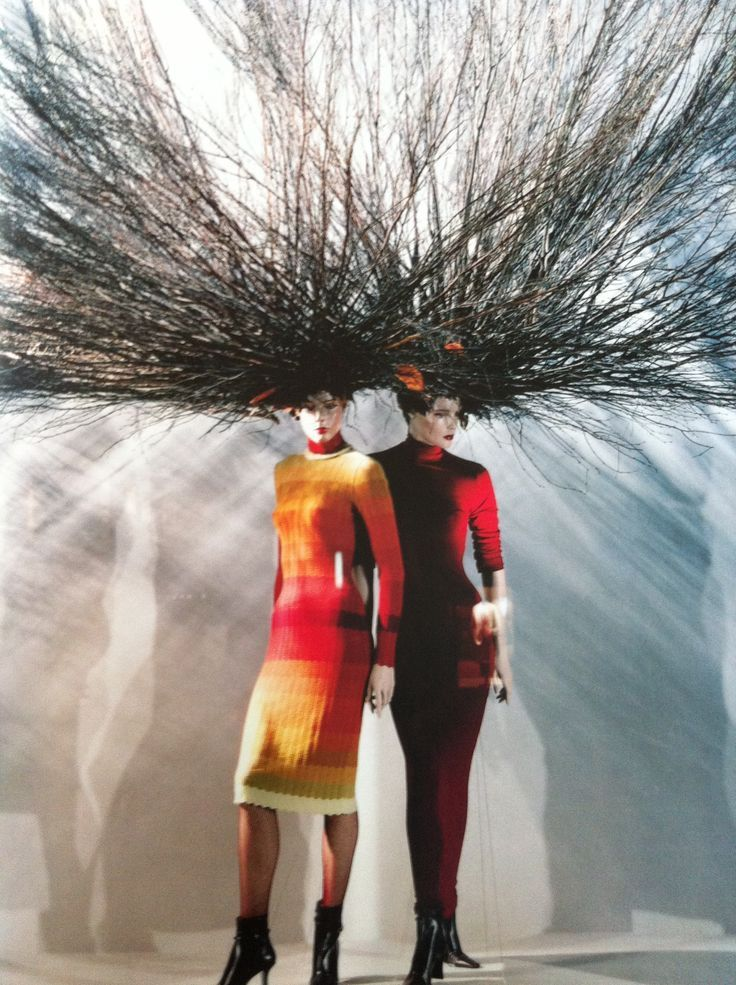Mother Nature meets Mannequins. #mannequin #branches