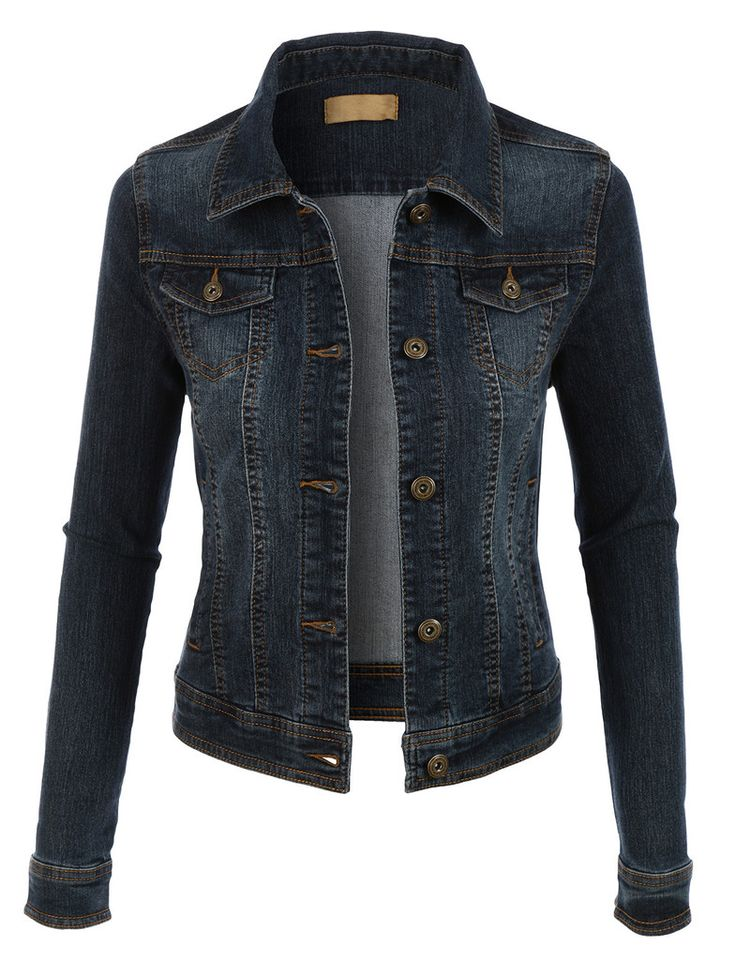 Best 25  Womens jean jackets ideas on Pinterest | Black denim ...