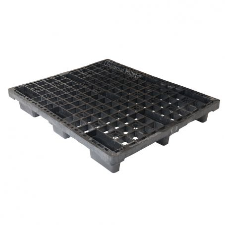 1200 X 1000mm 4 Way Entry Non-perimeter Based Lightweight Nestable Plastic Pallet