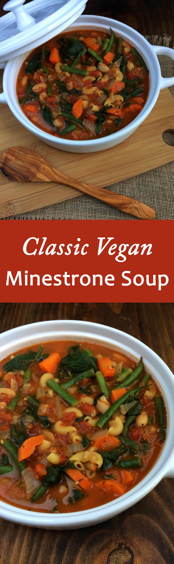 Classic Vegan Minestrone Soup Recipe