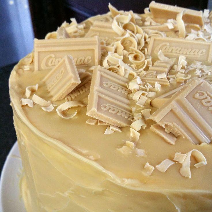 Vanilla Caramac cake