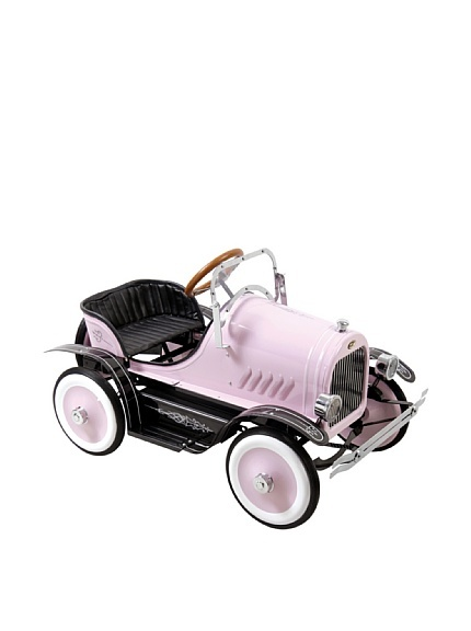 Dexton Deluxe Pink Roadster Pedal Car at MYHABIT