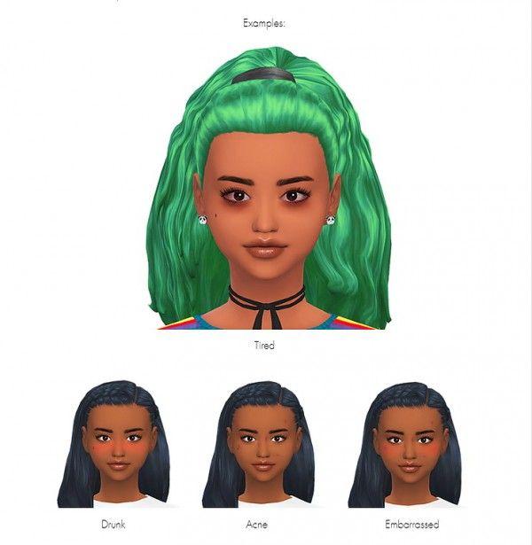 Kawaiistacie Melanin Add On Slice Of Life Sims 4 Downloads Melanin Slice Of Life Life Sim