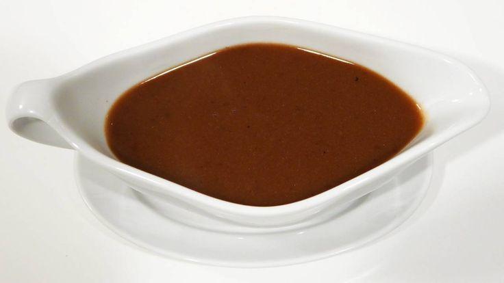 Brun brun sauce.