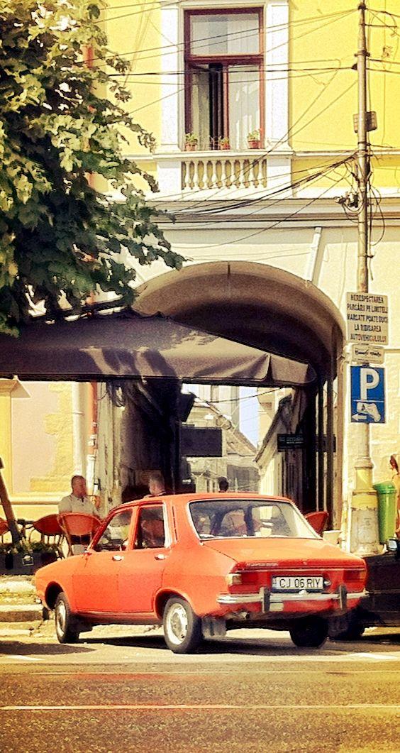 Old Dacia 1300 in Cluj Napoca, Romania