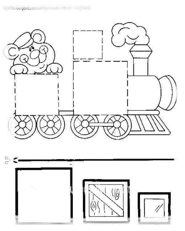 squares coloring pages for preschool - photo#19