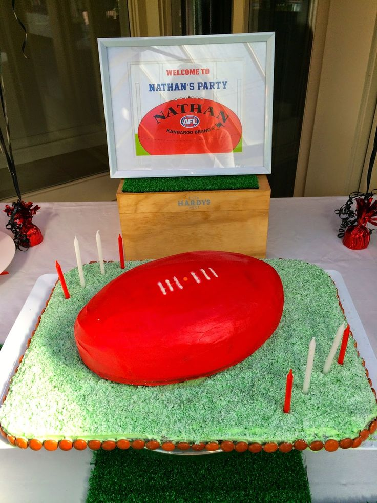 How to Host an AFL Birthday Party