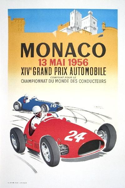 Monaco Grand Prix - 1956