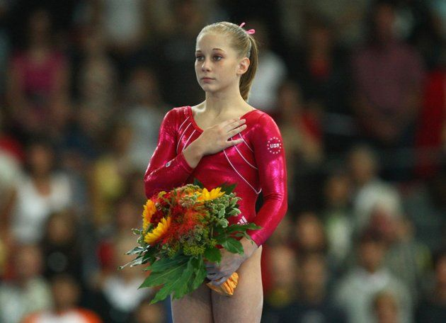 Shawn Johnson FX World champ 2007! I JUST WATCHED THIS :)